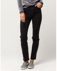 Almost Famous - Premium Womens Mom Jeans - Lyst