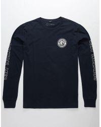 Brixton - Rival Ii Mens T-shirt - Lyst