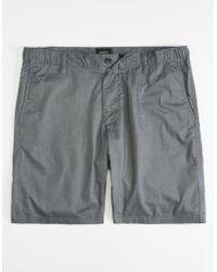 RVCA - About Time Navy Mens Hybrid Shorts - Lyst