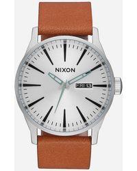 83a36c9ece1 Lyst - Nixon Captain Phasma Sentry Ss Watch - Silver in Metallic for Men