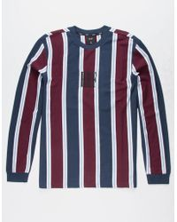 Huf - Port Adios Striped Long-sleeve T-shirt - Lyst