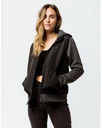 RVCA - Eternal Womens Hooded Jacket - Lyst