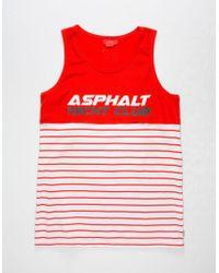 Asphalt Yacht Club - Yachty Mens Tank - Lyst