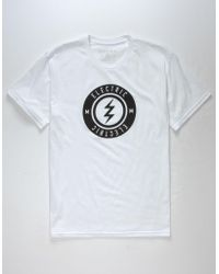 Electric - High Voltage Mens T-shirt - Lyst