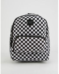 Vans - Checkered Mini Backpack - Lyst