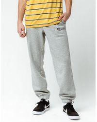 Lyst - Nike Sportswear Sweatpants in Black for Men 1f8f2cd14
