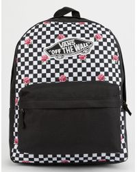 bb794e65bf8 Vans Realm Backpack in Black - Lyst