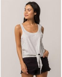 Amuse Society - Fade Away Womens Top - Lyst