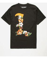 LRG - Leaves Black Mens T-shirt - Lyst
