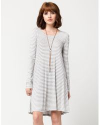 Others Follow - Striped Dress - Lyst