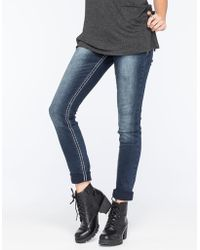 Almost Famous - Premium Clean Womens Skinny Jeans - Lyst