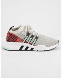 outlet store 0b68c 7198c adidas - Eqt Support Mid Adv Primeknit Shoes - Lyst