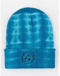 Primitive - X Rick And Morty Morty Washed Aqua Mens Beanie - Lyst