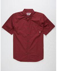 Nixon - Nickel Mens Shirt - Lyst