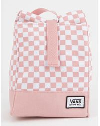 Vans - Mow Pink Checkerboard Lunch Bag - Lyst