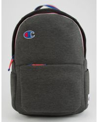 Champion - Attribute Charcoal Backpack - Lyst
