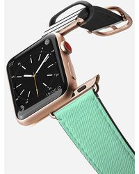 Casetify - 38mm Mint And Stripes Gold Apple Watch Band - Lyst