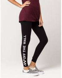 Vans   Off The Wall Check Womens Leggings   Lyst
