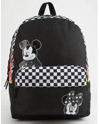 Vans - Disney X Realm Punk Mickey Backpack - Lyst