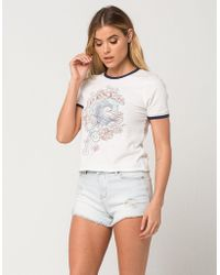 Celebrity Pink - High Waisted Womens Ripped Denim Shorts - Lyst
