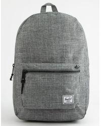 cfd797962af Herschel Supply Co. - Settlement Raven Crosshatch Backpack - Lyst