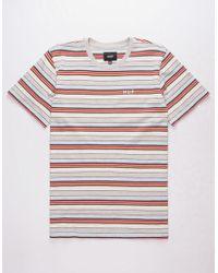 Huf - Off Shore Stripe Mens T-shirt - Lyst