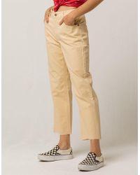 RVCA - Tripod Womens Wide Leg Jeans - Lyst