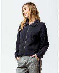 RVCA - Busdriver Womens Crop Jacket - Lyst