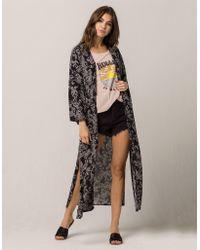 Amuse Society - Kiki Womens Kimono - Lyst