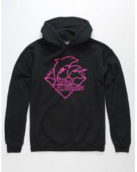 Pink Dolphin - Sheen Waves Mens Hoodie - Lyst