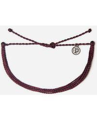 Pura Vida - Muted Burgundy Bracelet - Lyst