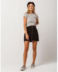 Roxy - Street Direction Denim Skirt - Lyst
