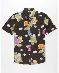 Huf - Botanica Mens Shirt - Lyst