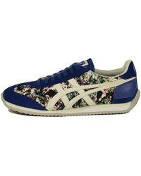 c3a2b94d66 Onitsuka Tiger - S Unisex  California 78 Floral Monaco Blue   Slight White  Sneaker -