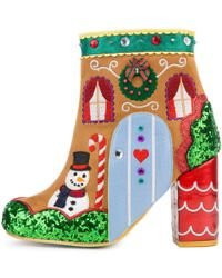 Irregular Choice - Gingerbread House Ankle Boots - Lyst