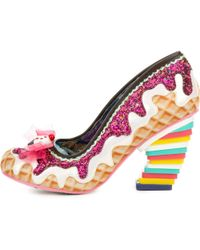 Irregular Choice | Sweet Treats White And Pink High Heel | Lyst