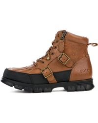 Polo Ralph Lauren   Demond Brown Boots   Lyst