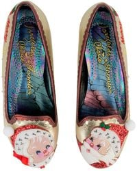 Irregular Choice - The Clauses Flats - Lyst