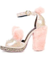 Irregular Choice - Cream Puff Pink High Heel - Lyst