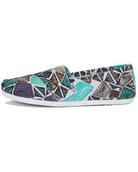 TOMS | Classic White Multi Canvas Printed Abstract | Lyst