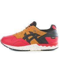 Asics | Gel-lyte V G-tx Red/black Sneakers | Lyst