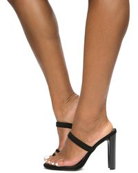 a6fa91644ece Lyst - Liliana Chunky Heel With Flames in White