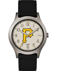 Timex - Watch Ringer Pittsburgh Pirates Gray/black/other - Lyst