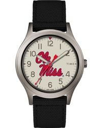Timex - Watch Ringer Mississippi Rebels Gray/black/other - Lyst