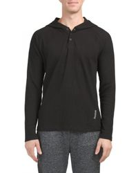 Tj Maxx - Thermal Henley With Hood - Lyst