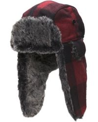 Tj Maxx - Wool Bomber Hat With Faux Fur Lining - Lyst