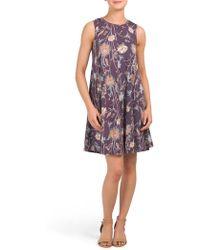 Tj Maxx - Sleeveless Floral Knit Dress - Lyst