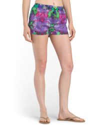 Tj Maxx - Printed Cover-up Short - Lyst