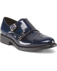 Tj Maxx - Made In Italy Monk Strap Oxford Shoe - Lyst