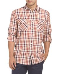 Tj Maxx - Long Sleeve Beach Shack Twill Shirt - Lyst